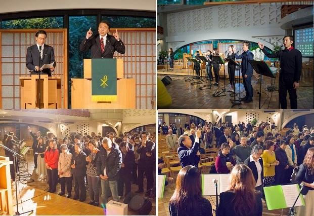 2014年11月孫大程で伝道会